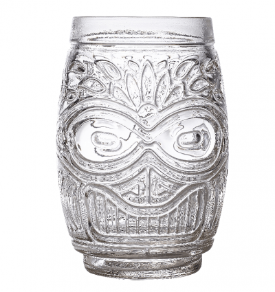 Fiji Stackable Tiki Glass 17.5oz / 50cl - Pack of 6