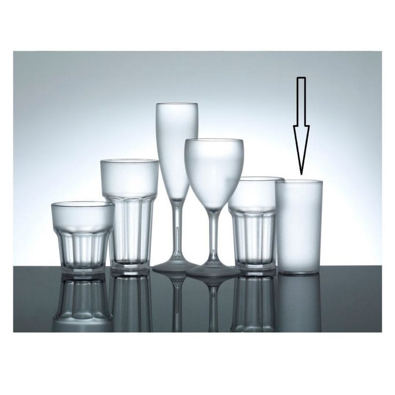 frosted_plastic_high_ball_glasses_uk