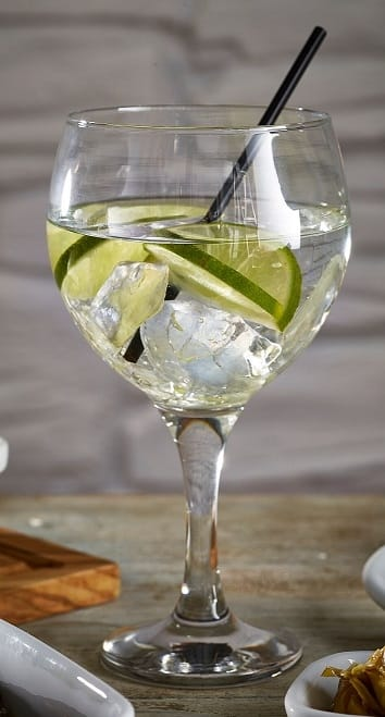 Gin & Tonic Cocktail Misket Glass, 64.5cl / 22.5oz - 6 Pack, £3.20 each