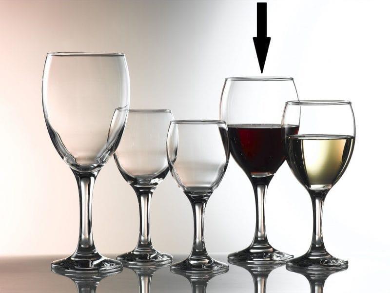 Empire Wine Glasses Large