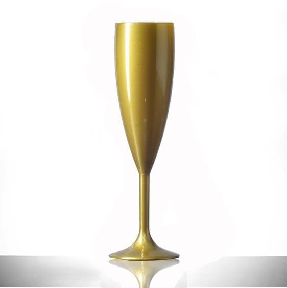 Gold Champagne Flutes | Glassjacks