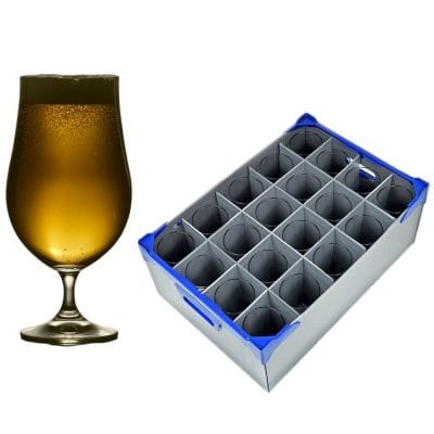 Beer Goblet Glasses & Storage Box | Glassjacks