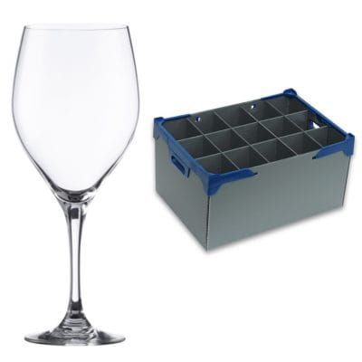 Large Wine Glass & Storage Crate | Glassjacks