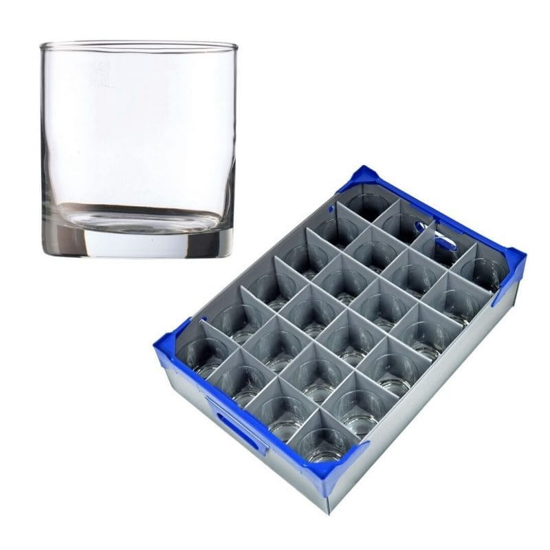 Rocks Tumbler & Glass Storage Box | Glassjacks