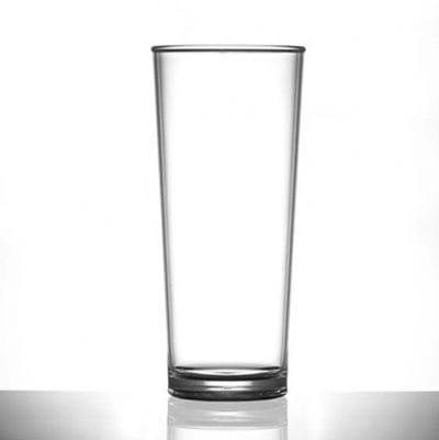 Premium Polycarbonate Pint Glasses 20 oz - 6 Pack
