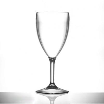 Plastic Wine Glasses Extra Large 14oz - Polycarbonate - 6 Pack