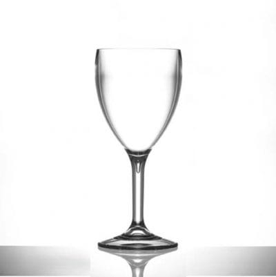 Plastic Wine Glasses Large 11oz Polycarbonate - 6 Pack