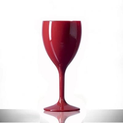 Red Wine Glass Premium Polycarbonate 11oz  - 6 Pack