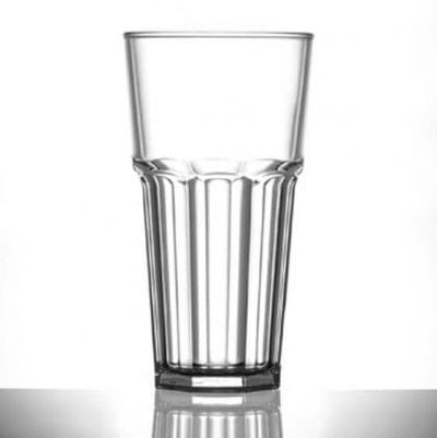 Elite Remedy Polycarbonate Pint / 20oz Tall Glasses - 6 Pack