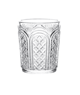 Astor Vintage Glass Tumbler, 34cl / 12oz, 4  Pack - £16.88