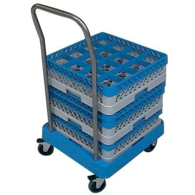Compartment Glass Racks - Transport Dolly - Handle Not Included