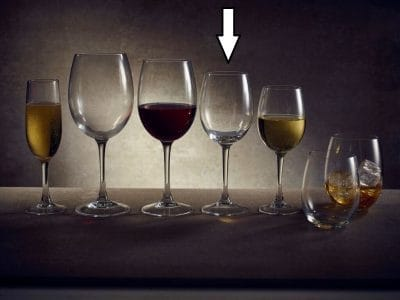 Victoria Premium Wine Glass, 35cl / 12.3oz - Pack of 12, £2.86 each