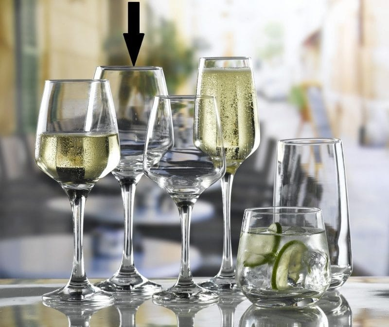 Lal Large Wine Glass  40cl / 14oz - 24 Pack, £1.96 each