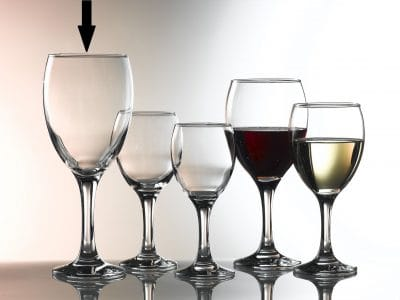 Empire Wine Glasses  59cl / 20.5oz - 24 Pack, £1.72 each