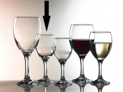 Empire Wine Glasses  24.5cl / 8.5oz - 24 Pack, £1.28 each