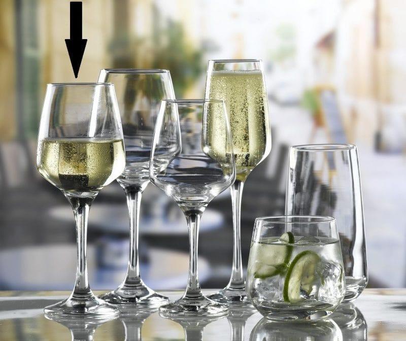 Lal Medium Wine Glass  29.5cl / 10.25oz - 24 Pack, £1.60 each