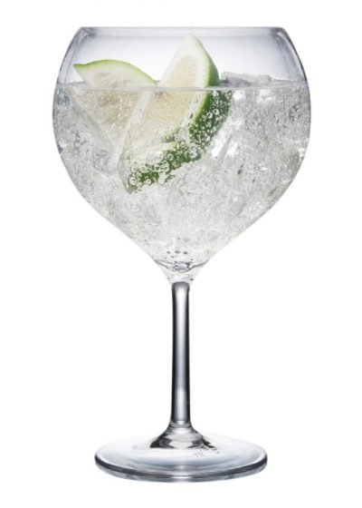 Reusable Plastic Gin Glasses – Polycarbonate - Pack of 12
