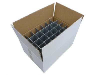 Moving Cardboard Box for Glasses