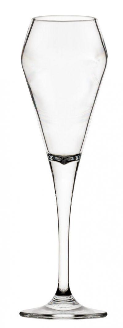 Plastic Champagne Flute, Lucent Peak Champagne Utopia