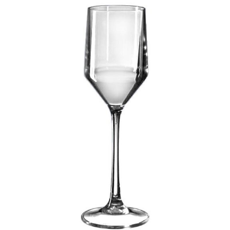 Premium Plastic Champagne Glassware