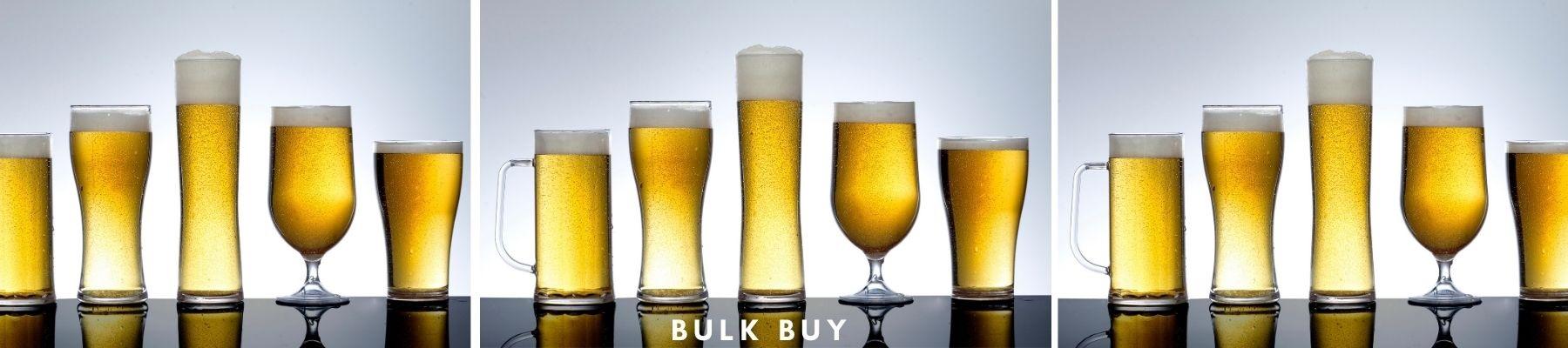 Bulk Buy Plastic Beer Glasses Offers