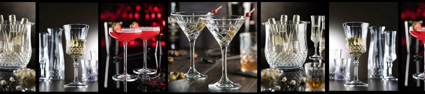 Utopia Plastic Martini Glasses from Glassjacks