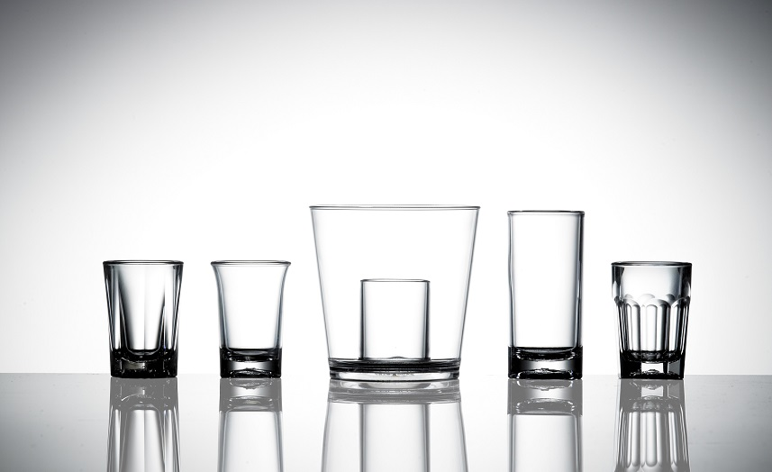 Plastic shot glass styles